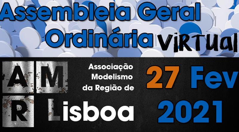 AMRL – Assembleia Geral Ordinária 27/02/2021