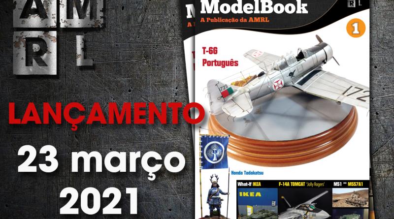23 março 2021 – 3 anos de AMRL e o lançamento da ModelBook número 1